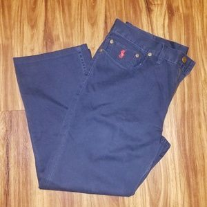Navy blue khaki pants